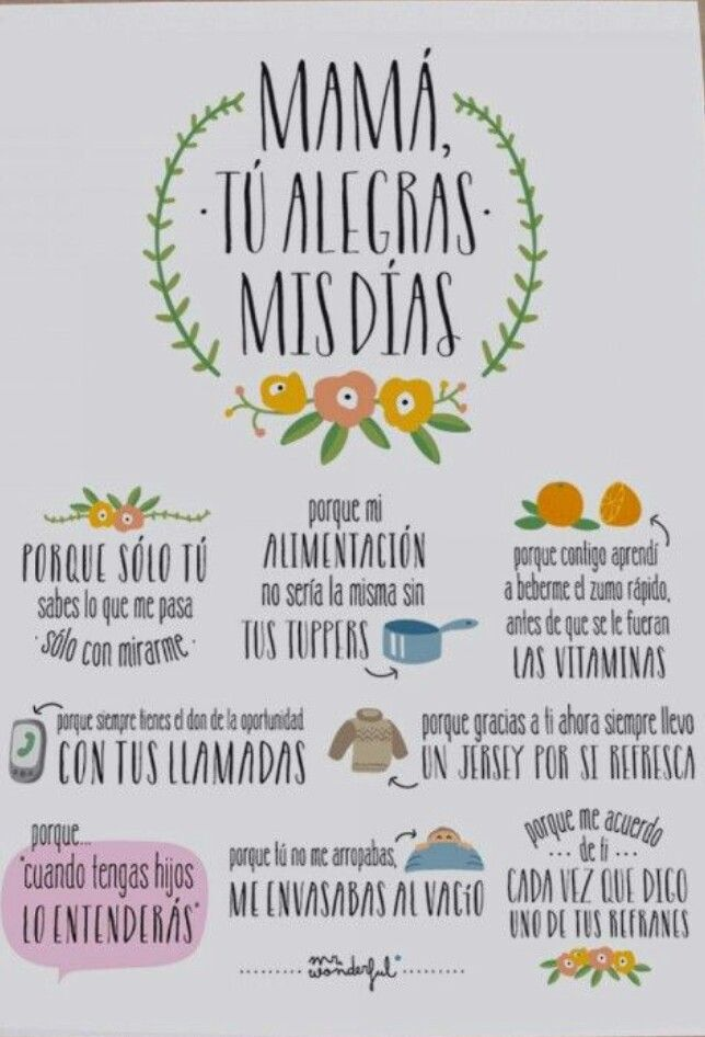 Mr. Wonderful Dia de la madre