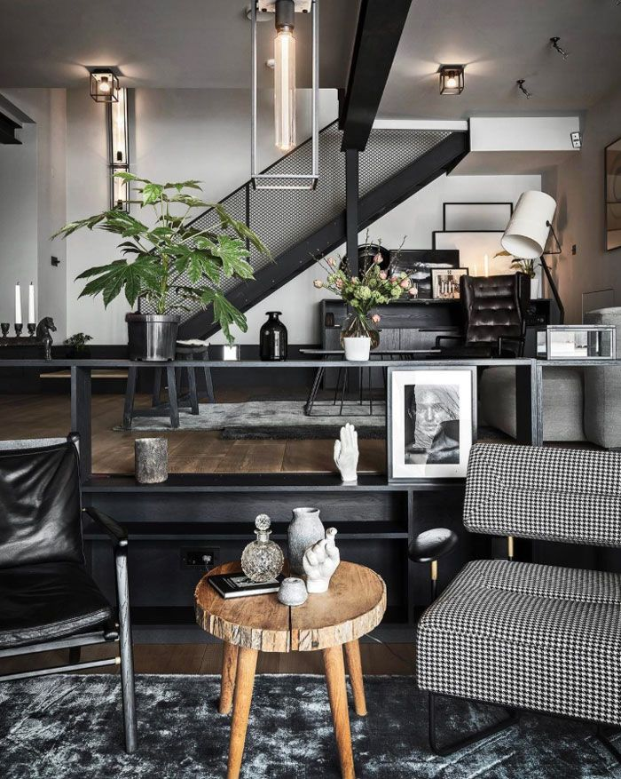 Top 25+ best Industrial living rooms ideas on Pinterest Loft - industrial living room ideas