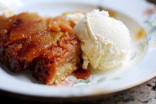 Apple Cake in an Iron Skillet--Pioneer Woman: Are you ...