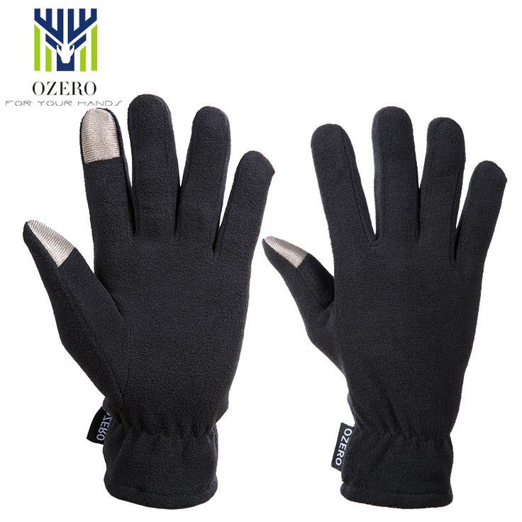 OZERO New Touch Screen Gloves Winter outdoor sport warm Gloves waterproof warm Below Zero ski Cycling Gloves For Men Women 9006