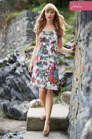 Joules Cotton Floral Printed Dress - Simple but gorgeous