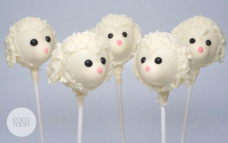 How To Decorate Sheep Cake Pops