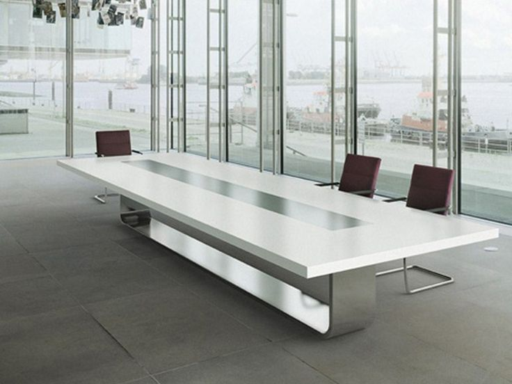 Rectangular Meeting Table S8000 By Thonet Design Hadi