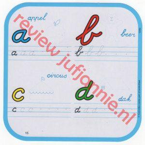 Ik leer schrijven van Jumbo Playlab. Schrijfkaarten die je keer op keer weer kan gebruiken.