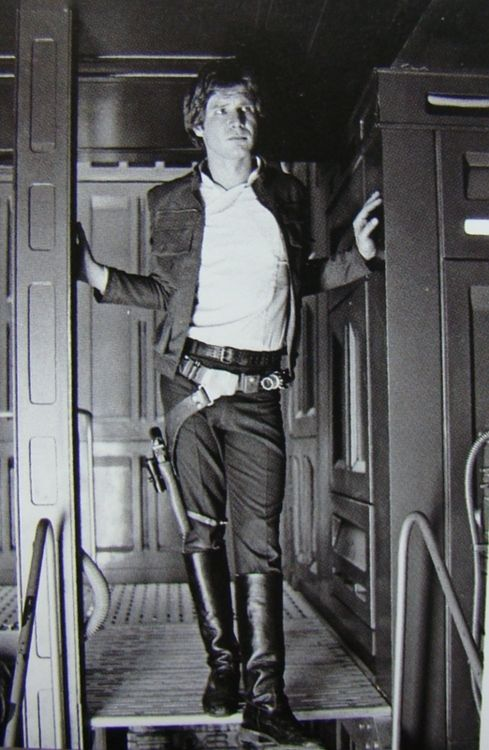 Great shot of Han Solo - Harrison Ford
