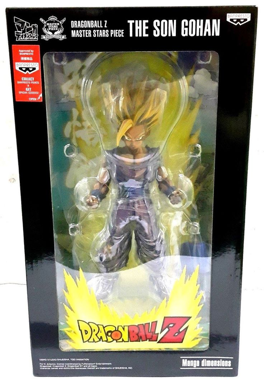 "Banpresto Master Stars Dragon Ball Z 7.9"" Super Saiyan 2 Son Gohan Manga Dimensions Figure"