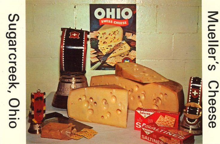 Swiss cheese from Ohio