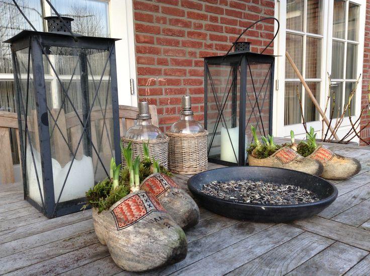 24 beste afbeeldingen over tuin decoratie op pinterest tuinen werkplaats en ladder - Idee van allee tuin ...