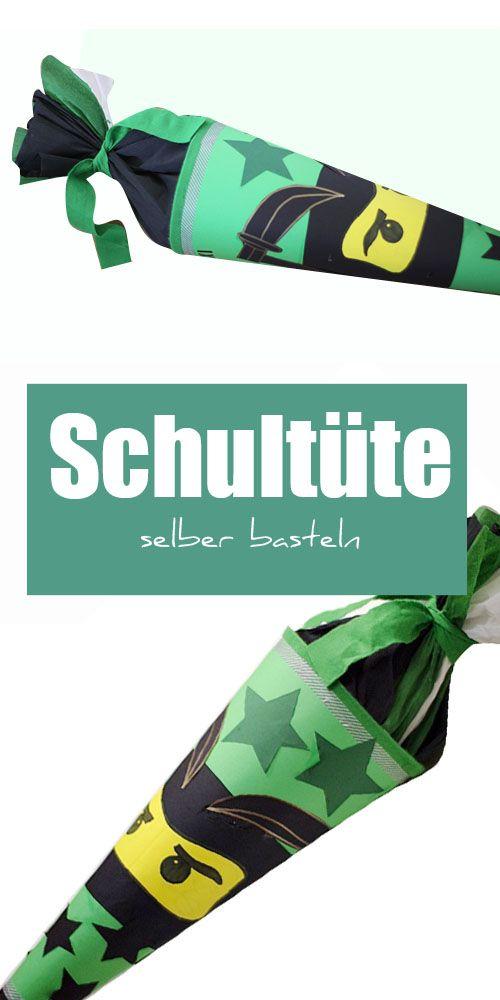 NINJAGO Schultüte basteln, Anleitung, DIY