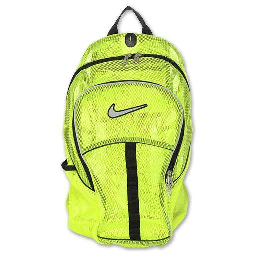 Nike+Mesh+Backpack | Nike Brasilia 4 Large Mesh Backpack | FinishLine.com | Neon