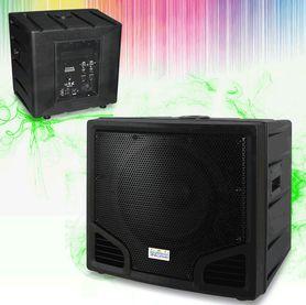 IN24118A Subwoofer attivo 2000 Watt - Cassa acustica amplificata casse diffusore dj set karaoke impianto audio altoparlante