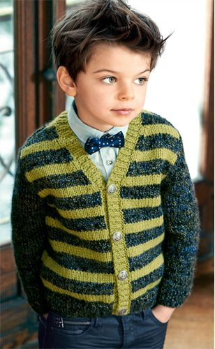 Bergere de France V Neck Cardigan Pattern. 4-12 years