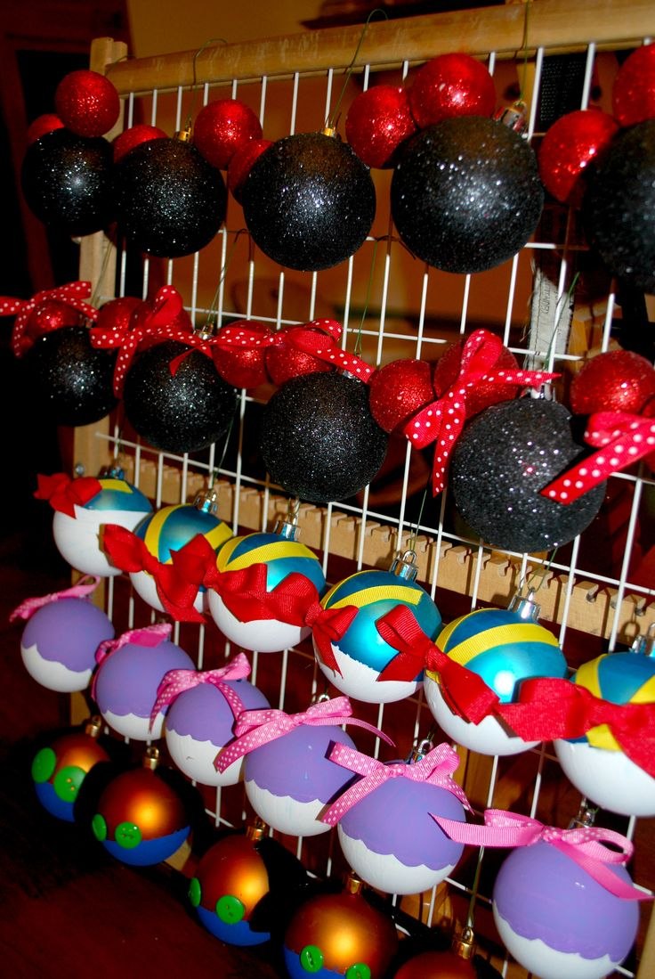 Disney christmas decorations for home - Diy Disney Ornaments