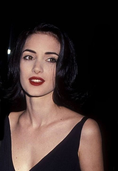 Winona Ryder at the 48th Annual Golden Globe Awards, 1991