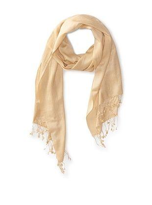 66% OFF Saachi Women's Cashmere/Silk Blend Scarf, Sand