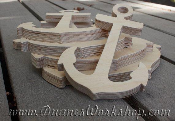 Madera ancla DIY inacabado lijado y listo para por DuanesWorkshop