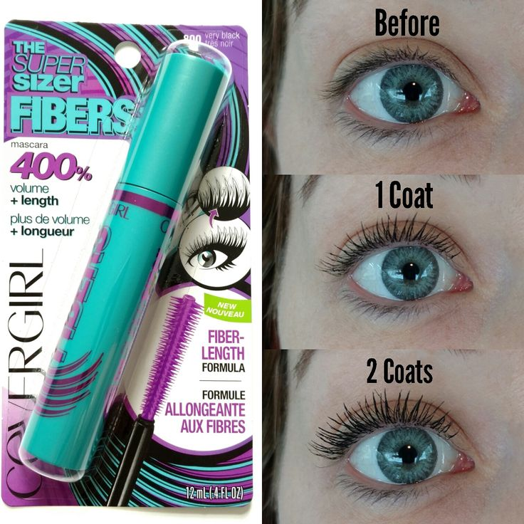 The Budget Beauty Blog: Cover Girl Super Sizer Fibers   Review