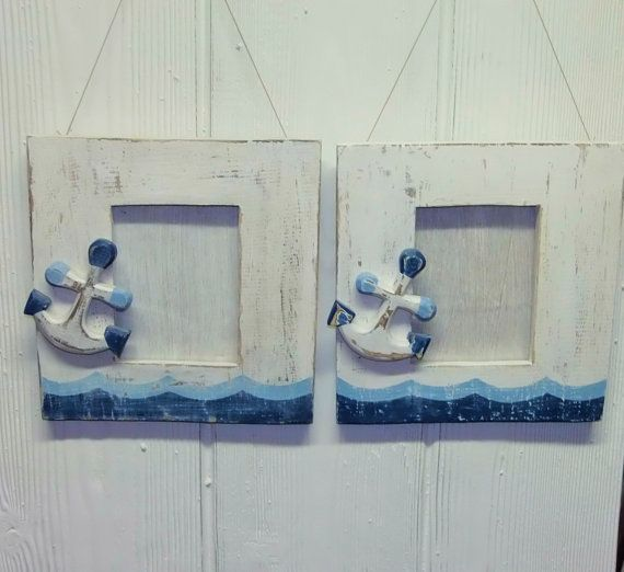 check out this item in my etsy shop httpswwwetsy nautical picture framesnautical picturespainted - Nautical Picture Frames