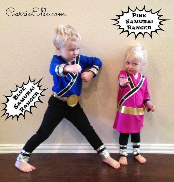 DIY Power Rangers Costumes