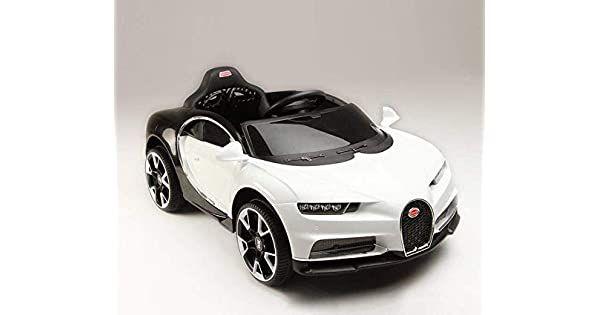 سيارة كهربائية للاطفال بوغاتي مع ريموت كنترول لون ابيض اشتري اون لاين بأفضل الاسعار في السعودية سوق كوم الان اصبحت امازون السعودية Sports Car Car Vehicles