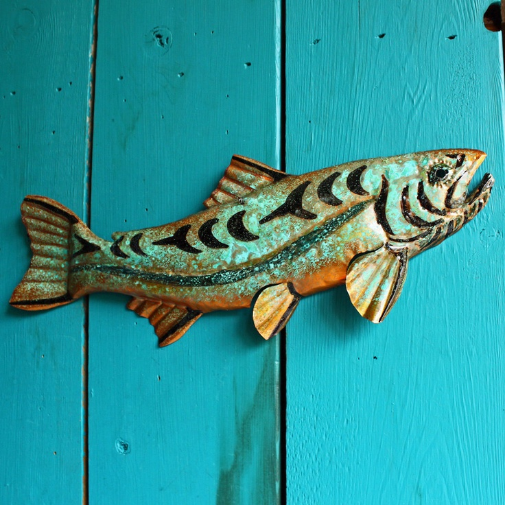 Trout Spirit - copper fish
