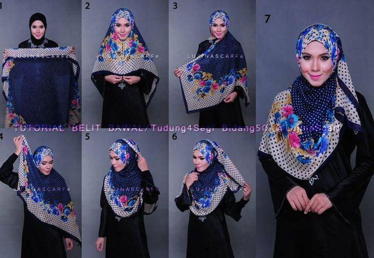 modest hijab tutorial
