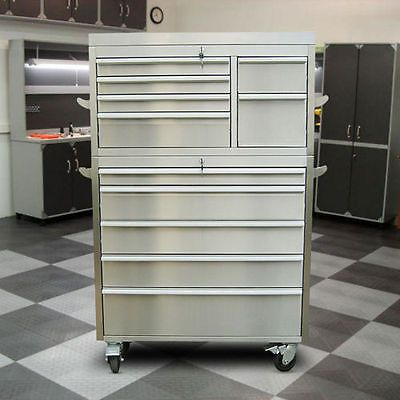 TRINITY 41 Stainless Steel Tool Chest