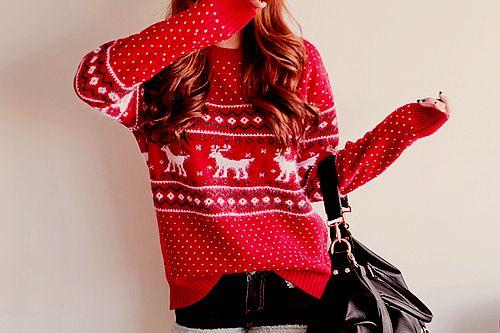 Reindeer Sweater ⛄️ ❄️ Bella Montreal ❄️ ⛄️