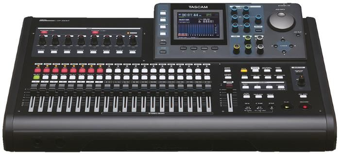 TASCAM DP-32SD 32-Track Portastudio Digital Recorder