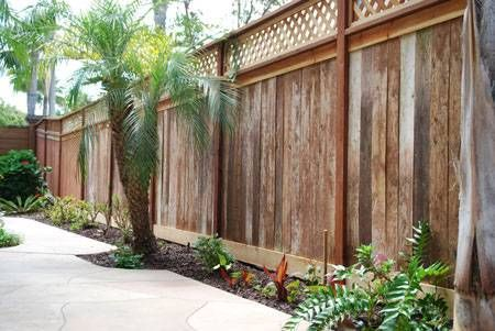 15 best Fence images on Pinterest Backyard ideas, Garden ideas and - sichtschutzzaun aus kunststoff gute alternative holzzaun