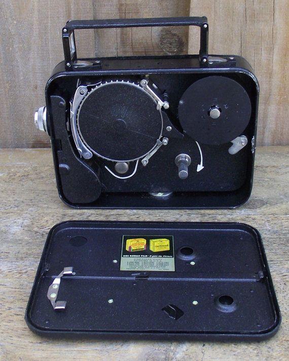 Cine Kodak 8 Vintage Movie Camera by DaytonaVintage on Etsy, $44.95