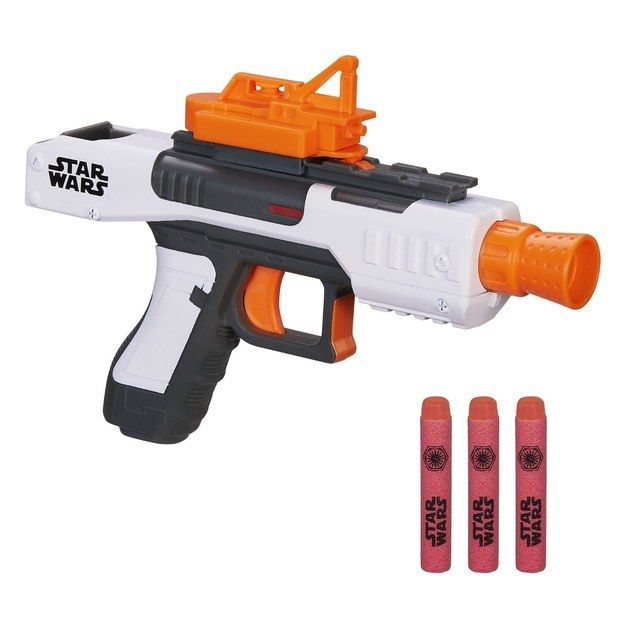 """This amazing Nerf gun that looks like a First Order Stormtrooper Blaster.   24 """"Star Wars"""" Toys Even Adults Will Want To Play With"""