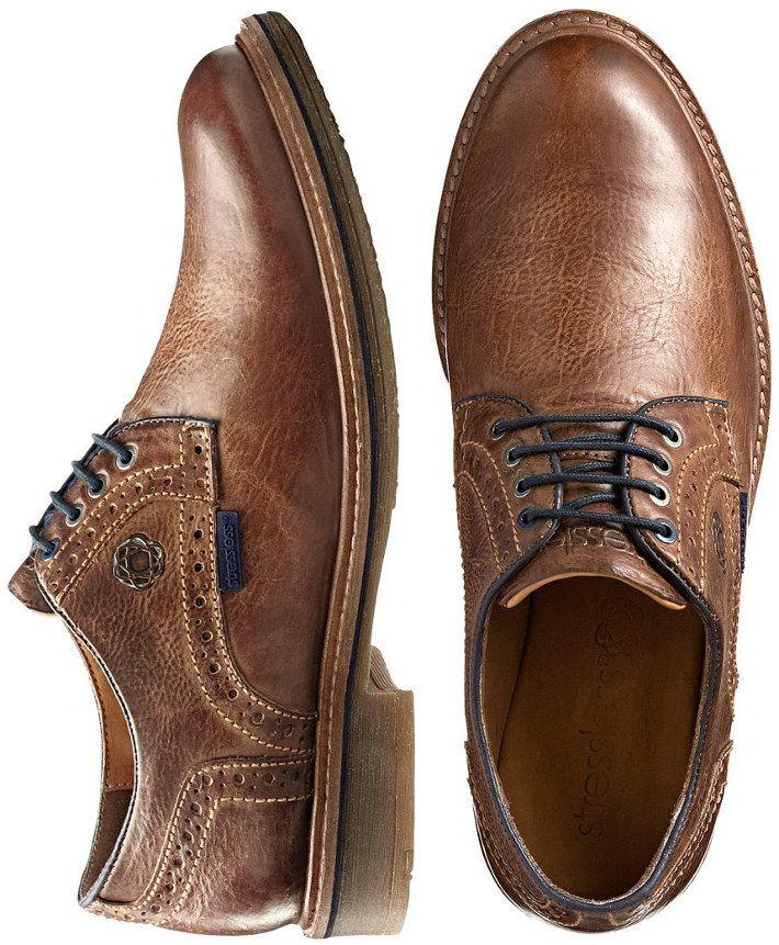 Pantofi barbati din piele maro