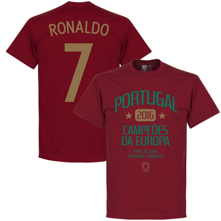 Portugal EURO 2016 Winners Ronaldo T-Shirt - XXL