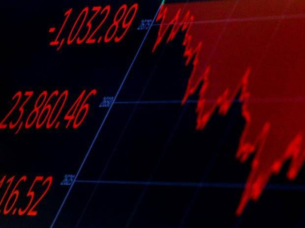Stock markets live: FTSE 100 slips after Asian indexes and Dow see fierce sell-off fuelled by interest rate fears    A screen displays the Dow Jones Industrial Average after the closing bell on the floor of the New York Stock Exchange in New York Brendan McDermid/Reuters  Londons FTSE 100 slipped on Friday morning after yet another fierce sell-off across US and Asian stocks fuelled by concerns that global interest rates may rise faster than previously expected.  By mid-day the UKs benchmark…