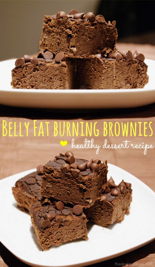 If you're looking to lose weight and stay healthy, this recipe takes your dessert eating experience to a whole other level. First of all, it is gluten free and low fat, so you can enjoy it even if you are on a strict diet. P.S - you won't even realize that these brownies are made without flour!  ==>> for more healthy fat-burning desserts: http://thedessertangel.com/healthy-desserts-weekly-newsletter/ #weightloss #glutenfree #lowfat #healthy #brownies #fatburning #desserts @dessertangel
