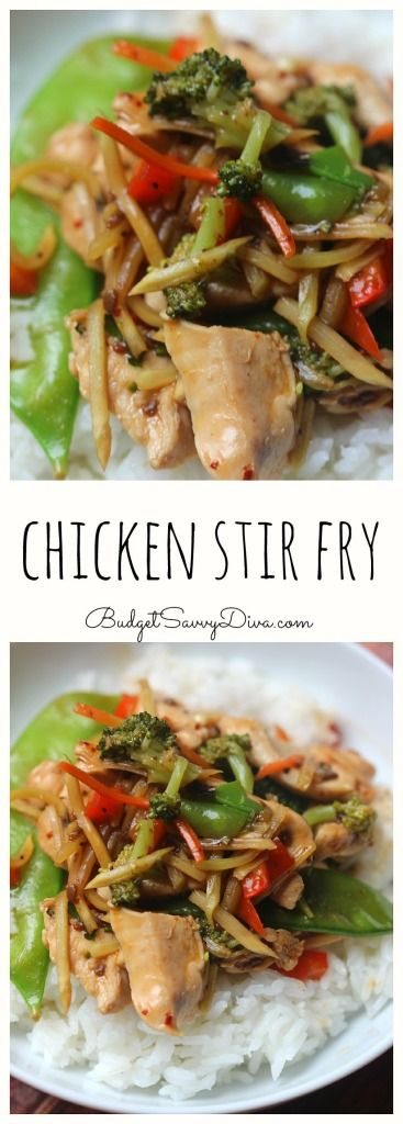 SUPER Simple Chicken Stir Fry - Fresh and Easy To make - Done in Under 30 Minutes - Perfect Weekday Meal - My family loved it so much that they are asking for it again - Chicken Stir Fry Recipe