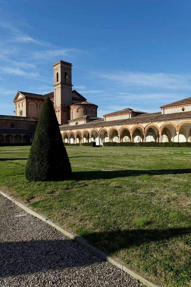 Ferrara, certosa monumentale e tempio di San cristoforo
