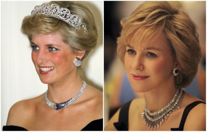 <p>Princess Diana από την ηθοποιό Naomi Watts<br /> «Diana» 2013</p>
