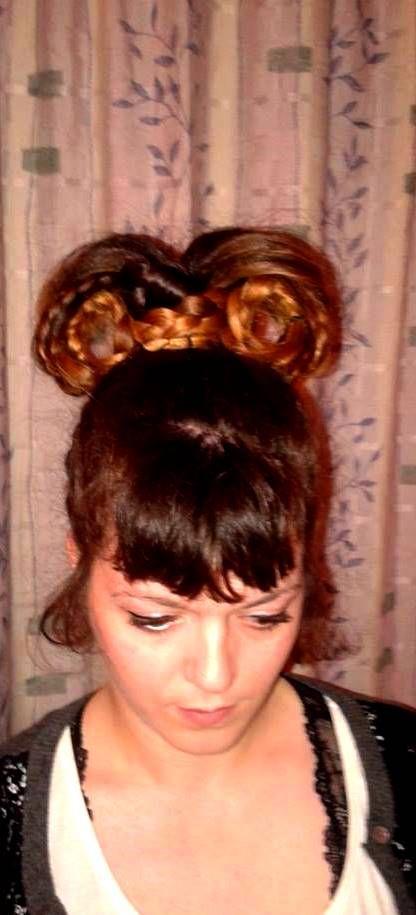 long hair braids @dwra86ntenti  #crete #greece hair bow