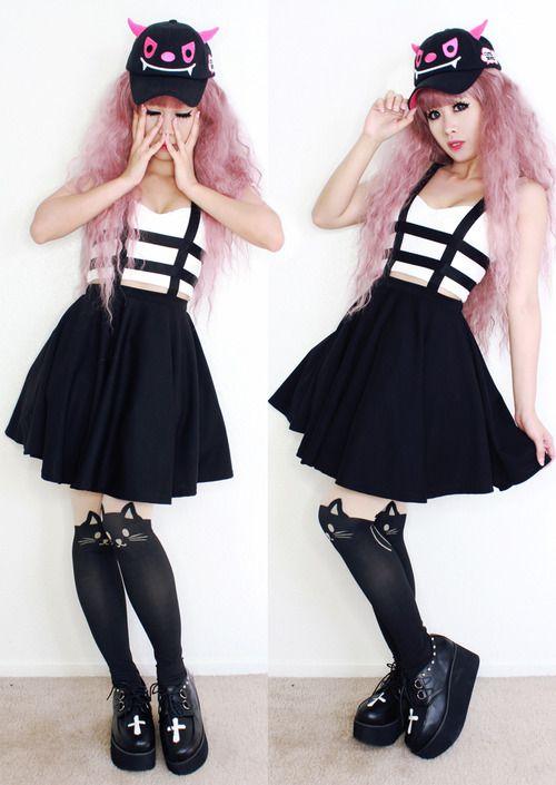 pastel goth fashion pastel goth outfits pinterest