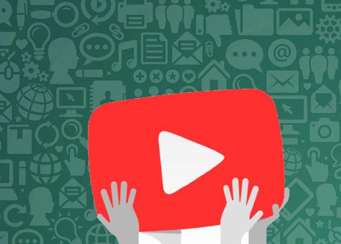 WhatsApp Youtube ya son compatibles; el servicio de mensajería instantánea incorpora en su nueva actualización soporte para...