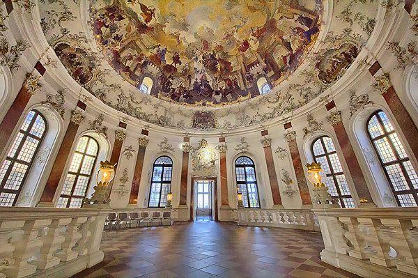 Foto: Kuppelsaal im Schloss Bruchsal - Deutschland, Bruchsal - GEO ...