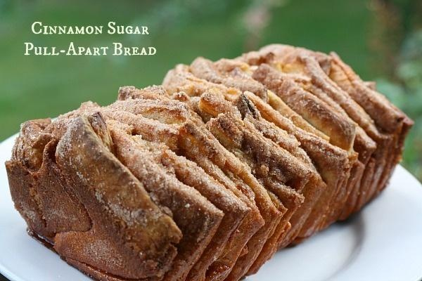 apart bread cheddar beer and mustard pull apart bread cinnamon sugar ...