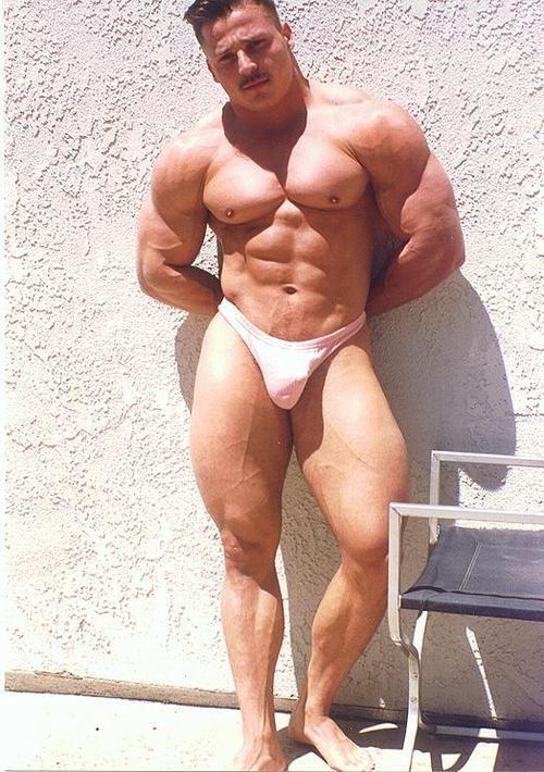 Steve Mckenzie Aka Steve Sterling- Bodybuilder  Wrestler -5175