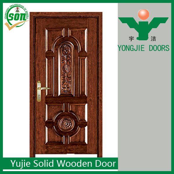 Source Latest hot sale model design catalogue Solid Wooden door on m.alibaba.com