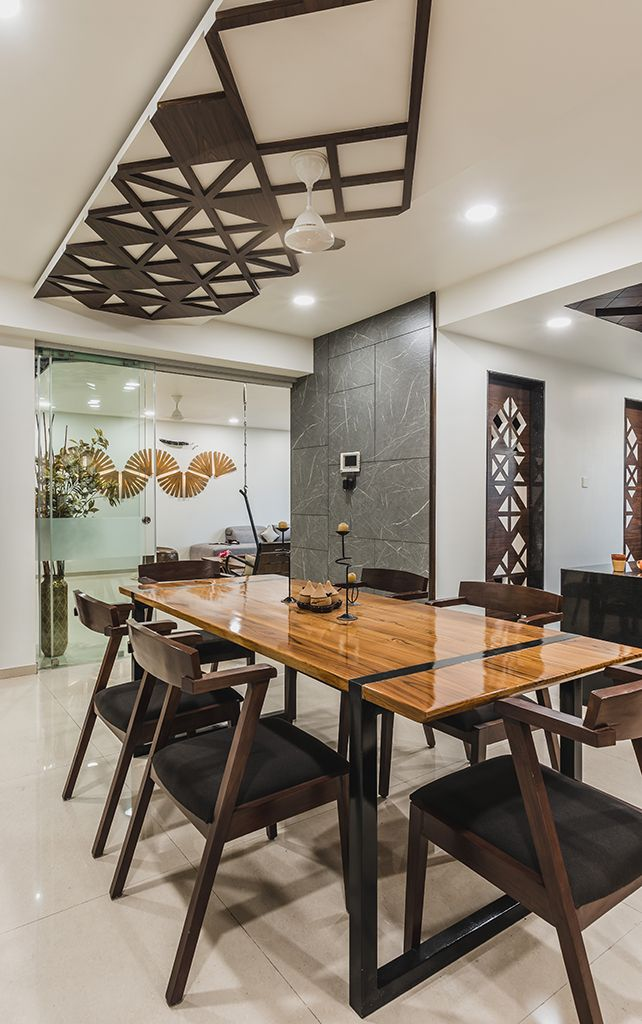 Advaitam Pavan Infratech Dining Room Small Dining Room Design
