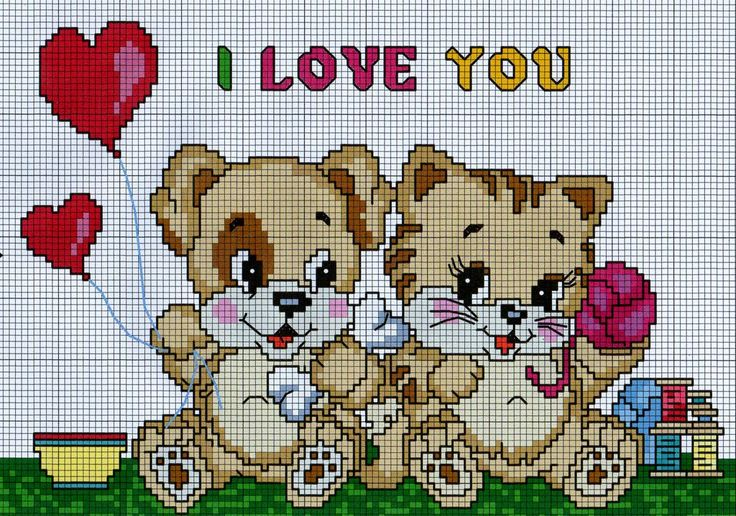 SWEET PUPPIES CROSS STITCH by syra1974.deviantart.com on @deviantART