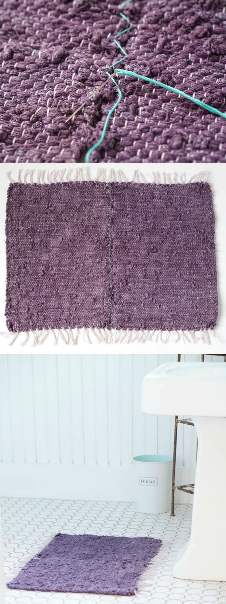best 25+ diy bath mats ideas on pinterest | bath mat, bath mats