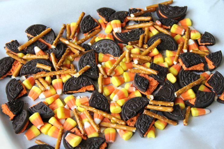 Halloween Bark - Fun Halloween Food - Family Fresh Meals